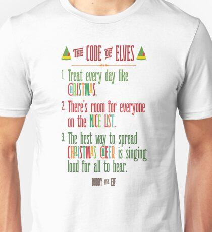 Buddy the Elf! The Code of Elves Unisex T-Shirt