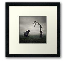 Clock Dali Framed Print