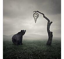 Clock Dali Photographic Print
