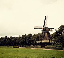 Diever Windmill by Martin Pot
