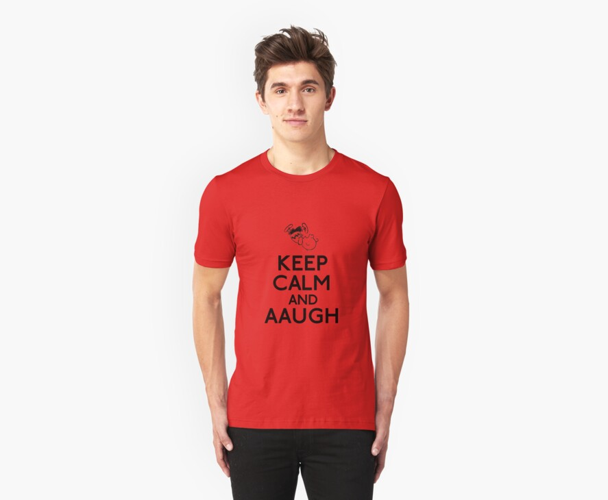 Keep Calm And AAUGH - Charlie Brown by dburgh