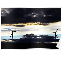 Powered by the Wind Poster