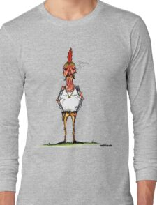 bobby chickenson Long Sleeve T-Shirt