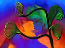 Rainbow Worrier & Happy Plant by Casey Herman