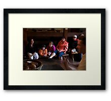 Below Decks on the Dunbrody, New Ross, County Wexford, Ireland Framed Print