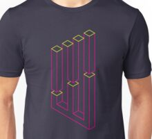 Impossible Shapes: Columns Unisex T-Shirt