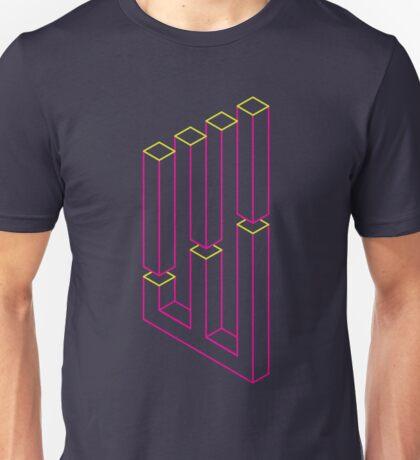 Impossible Shapes: Columns Unisex T-Shirt