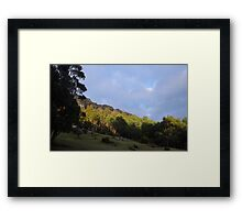 the getaway from hectic life.... Framed Print