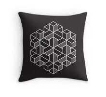 Impossible Shapes: Hexagon Throw Pillow