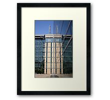 Reflection, Natural History Museum, London Framed Print