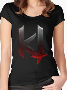 Killer Instinct Logo Women's Fitted Scoop T-Shirt