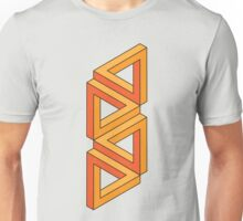 Impossible Shapes: Triangles Unisex T-Shirt
