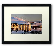 Hotham at sunrise Framed Print