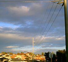 Suburbia Sunset by Robert Phillips
