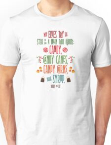 Buddy the Elf - The Four Main Food Groups Unisex T-Shirt