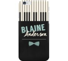 Blaine Anderson Piano iPhone Case/Skin