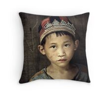 Red Dao Boy #0101 Throw Pillow