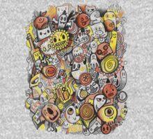 Pencil People Doodle Kids Clothes