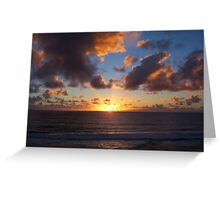 Sunset Twelve Greeting Card