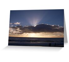 Sunset Ten Greeting Card