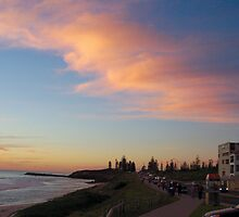 Sunset Cottesloe Cove by Robert Phillips