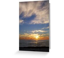 Sunset 100 Greeting Card