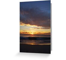 Sunset Two Greeting Card
