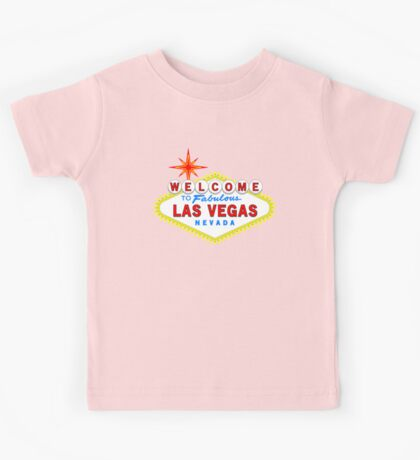 Welcome to Fabulous Las Vegas Kids Tee