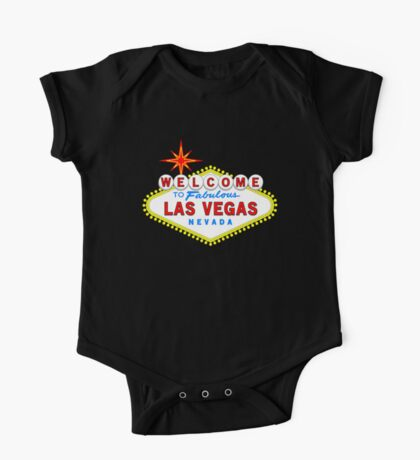 Welcome to Fabulous Las Vegas One Piece - Short Sleeve