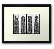 What Were Those Monks Up To? Framed Print