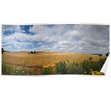 Wide Open Spaces ~ Howell Prairie Road ~ Poster