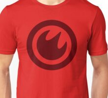 Fire Medallion (large) Unisex T-Shirt
