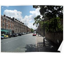 Georgian Quarter In Liverpool, Merseyside. Poster
