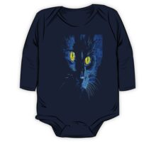 Marley The Cat Portrait With Striking Yellow Eyes One Piece - Long Sleeve