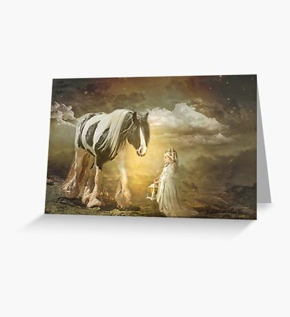 By Lantern Light Greeting Card
