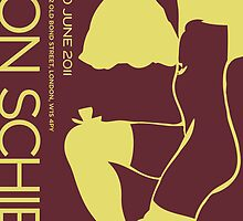 Revised - Schiele Poster by Christina Rodriguez