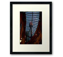 Sydney streetscape Framed Print