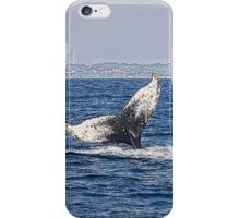 Having a whale of a time iPhone Case/Skin