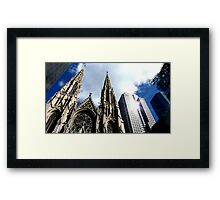 St Patricks Cathedral - New York City Framed Print
