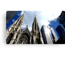 St Patricks Cathedral - New York City Canvas Print