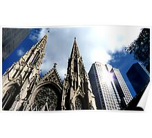 St Patricks Cathedral - New York City Poster