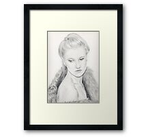 Margareta Framed Print
