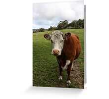 Outstanding In Their Field Greeting Card