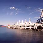 Canada Place by Ticker