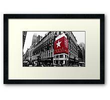 Macy's Department Store - New York City Framed Print