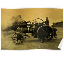 Ye Olde Traction Engine Poster
