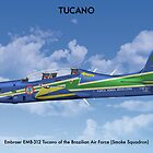 Embraer Tucano Brazil 3 by Claveworks