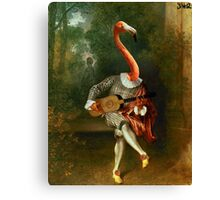 pink flamenco  Canvas Print