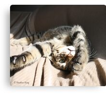 My World Is So Much Better Upsidedown Canvas Print
