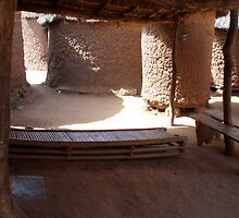 Courtyard in Mahon, Burkina Faso by mjohnston